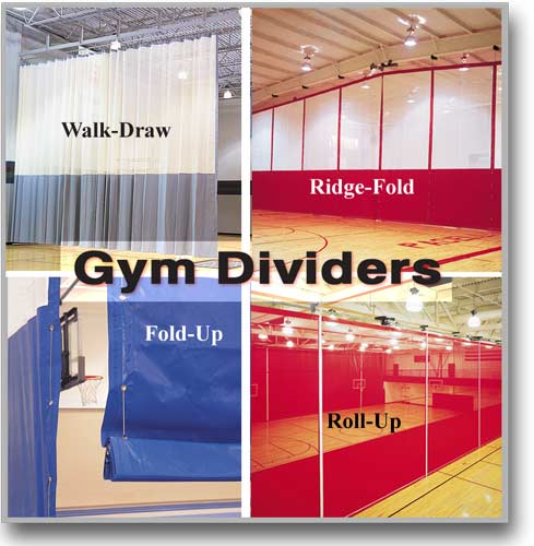 Curtain Wall | Gym Divider Curtains | Walk Draw Divider Curtains