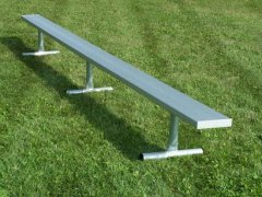 Seat 10, Galvanized Steel Supports-Outdoor