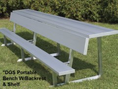 Benches with Backrest